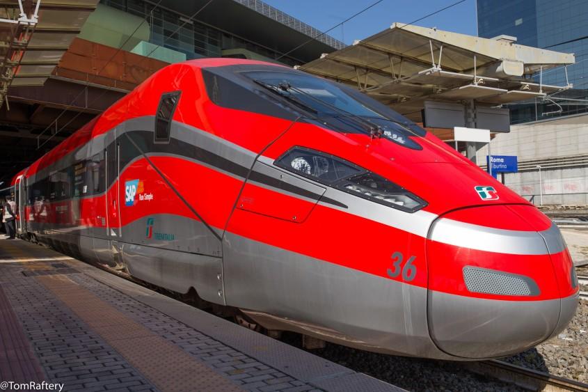 Italy's Fecciarossa 1000 high speed train